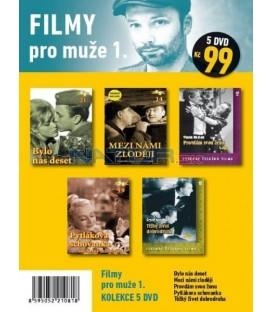 Filmy pro muže 1 - kolekce 5 DVD