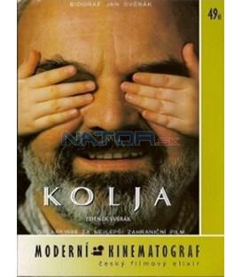 Jan Svěrák - kolekce 3 DVD - Kolja, Obecná škola, Tmavomodrý svět