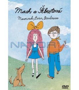 Mach a Šebestová na CD- kolekce 3CD (Mach a Šeb. za školou, na cestách, na prázdninách)
