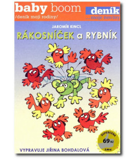 Pohádky od rybníka pack 3CD (O vodníku Čepečkovi, Rákosníček a rybník, O Rumcajsovi, Cipískovi a vodníku Volšovečkovi)