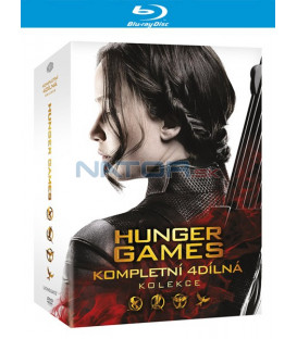 Hunger Games kolekce (The Hunger Games Collection) 1-4 Blu-ray