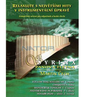 Syrinx – Panova flétna: Martin Čech (CD)