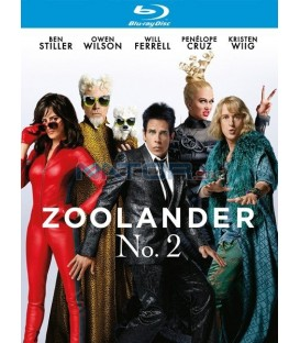 Zoolander No. 2. (Zoolander No. 2.) Blu-ray