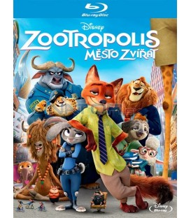 Zootropolis: Město zvířat (Zootropolis) Blu-ray