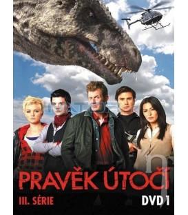 Pravěk útočí - 3. série - DVD 1 (Primeval) DVD