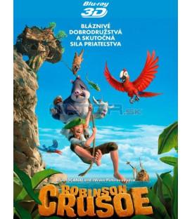 Robinson Crusoe: Na ostrově zvířátek (Robinson) Blu-ray 3D+2D