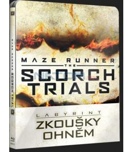 LABYRINT: ZKOUŠKY OHNĚM (Maze Runner: Scorch Trials) Blu-ray STEELBOOK