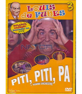 Luis de Funes 3: Piti piti pa (Lhomme orchestre) DVD
