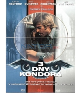 3 dny Kondora (Three Days of the Condor) DVD
