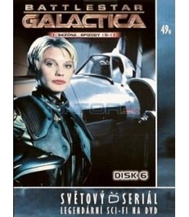 Battlestar Galactica - disk 6 - 1. sezóna, epizody 10 a 11(Battlestar Galactica)