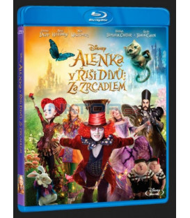 Alenka v říši divů: Za zrcadlem (Alice Through the Looking Glass) Blu-ray