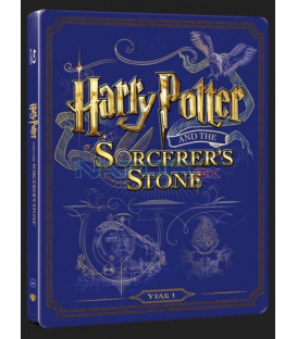 Harry Potter a Kameň mudrcov (Harry Potter And Philosopher´s Stone) Blu-ray+DVD bonus steelbook