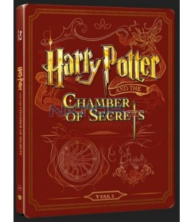 Harry Potter a Tajomná komnata (Harry Potter And Chamber Of Secrets) Blu-ray+DVD bonus steelbook