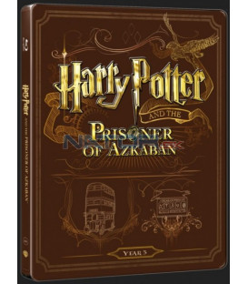 Harry Potter a väzeň z Azkabanu (Harry Potter And Prisoner Of Azkaban) Blu-ray+DVD bonus steelbook