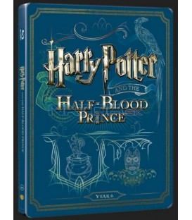 Harry Potter a Polovičný princ (Harry Potter and Half Blood Prince) Blu-ray+DVD bonus steelbook