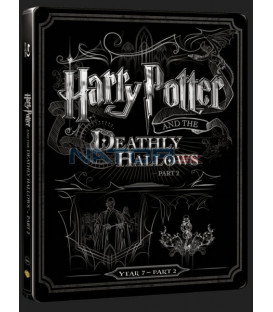 Harry Potter a Dary smrti - část 2. (Harry Potter and the Deathly Hallows - Part 2) Blu-ray+DVD bonus steelbook