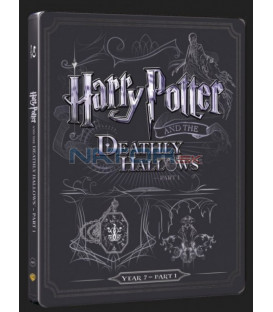 Harry Potter a Dary smrti - část 1. (Harry Potter and the Deathly Hallows - Part 1) Blu-ray+DVD bonus steelbook
