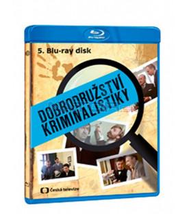 Dobrodružství kriminalistiky 5 remasterovaná verze Blu-ray