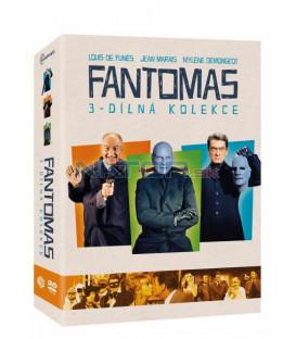 Fantomas kolekce 3DVD