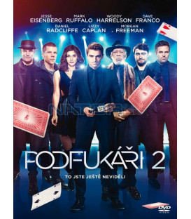 Podfukáři 2 (Now You See Me: The Second Act) DVD