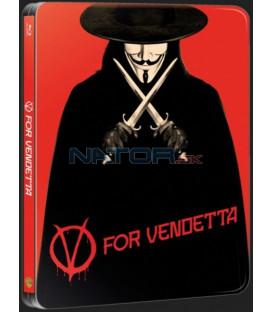 V jako Vendeta (V for Vendetta) steelbook Blu-ray steelbook