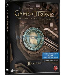 Hra o trůny 6. série (Game of Thrones Season 6) Blu-ray (4 X BD) steelbook