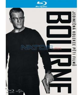 6 BD kolekce Bourne (5 BD + DVD bonus disk) Blu-ray