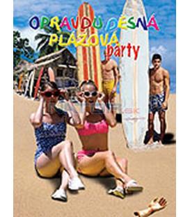 Opravdu děsná plážová párty ( Psycho Beach Party) DVD
