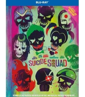 Sebevražedný oddíl (Suicide Squad) 2D Blu-ray prodloužená verze - digibook