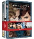 Nejlepší filmy ženy (Dánská dívka, Joy, Brooklyn) 3DVD