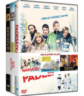 Nejlepší filmy rodina (Padesátka, Ledová sezóna, Bohové Egypta) 3DVD