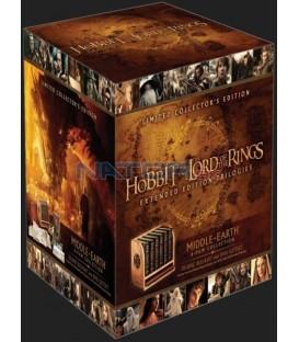 Kolekce Středozemě (prodloužené verze) limitovaná sběratelská edice 18BD+12DVD bonus
