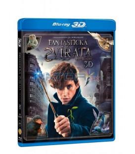 Fantastická zvířata a kde je najít (Fantastic Beasts and where to find them) 3D+2D Blu-ray STEELBOOK