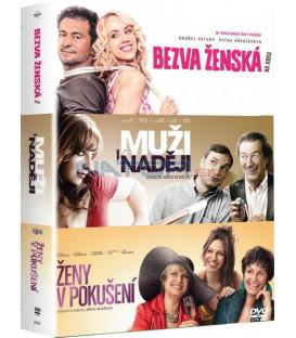 Kolekce: Bezva ženská na krku, Muži v naději, Ženy v pokušení 3 DVD