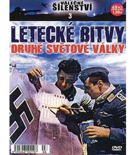 Válečné šílenství 3-Letecké bitvy 2. světové války DVD