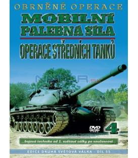 Obrněné operace 4 - Operace středních tanků – Mobilní palebná síla DVD