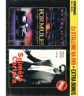 2XDVD Sejměte Cartera + Formule DVD