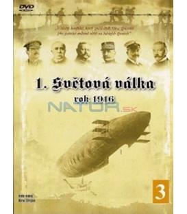1. světová válka - 3. díl (WWI - The Great War - 1916) DVD