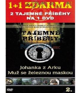 Tajemné příběhy (2. díl) - Johanka z Arku / Muž se železnou maskou(Mystery Files: Joan of Arc / Man in the Iron Mask) DVD