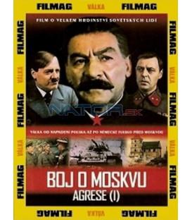 Boj o Moskvu - agrese 1 DVD (Bitva za Moskvu)