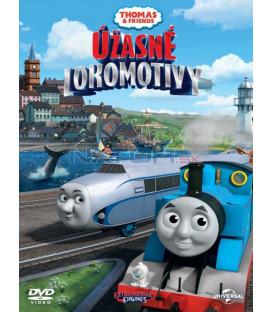 MAŠINKA TOMÁŠ: ÚŽASNÉ LOKOMOTIVY - DVD