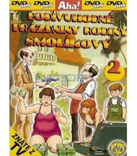 Podivuhodné prázdniny rodiny Smolíkovy 2 (Vakáción a Mézga család) DVD