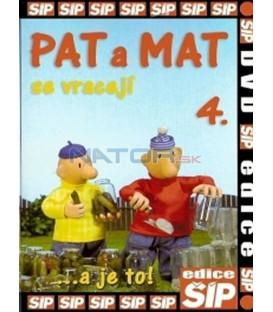 Pat a Mat 4. se vracejí ...a je to! DVD