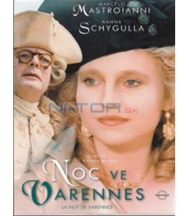 Noc ve Varennes (La nuit de Varennes) DVD