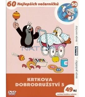 Krtkova dobrodružství 5 DVD