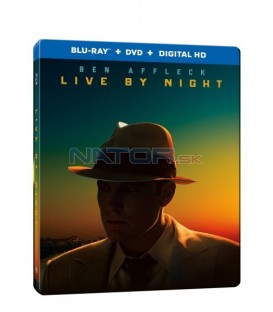 Pod rouškou noci (Live By Night) Blu-ray Steelbook