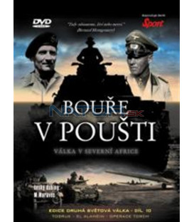 Bouře v poušti-Válka v Severni Africe (La segunda guerra mundial: Tormenta en el desierto - La Guerra en el Norte de África) DVD
