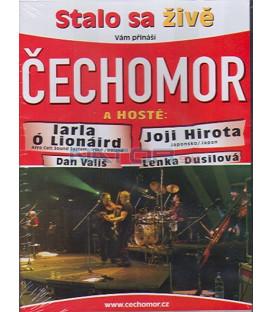 ČECHOMOR - Stalo sa živě DVD