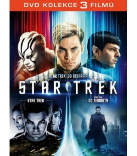 STAR TREK 1-3 KOLEKCE - 3 DVD