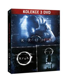 Kruhy kolekce 3DVD (Rings 3-Movie Collection) DVD